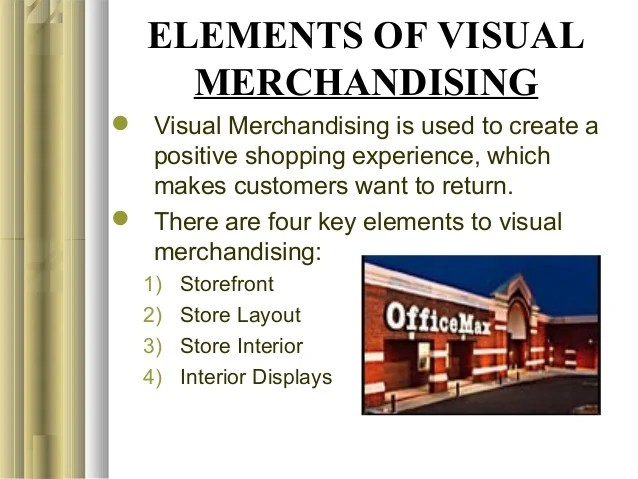 10 Chapter 18 Visual Merchandising And Display