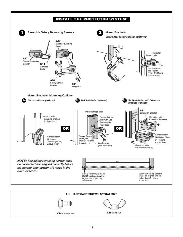 chamberlain garage door sensor wiring diagram cable for stanley opener – powerking.co