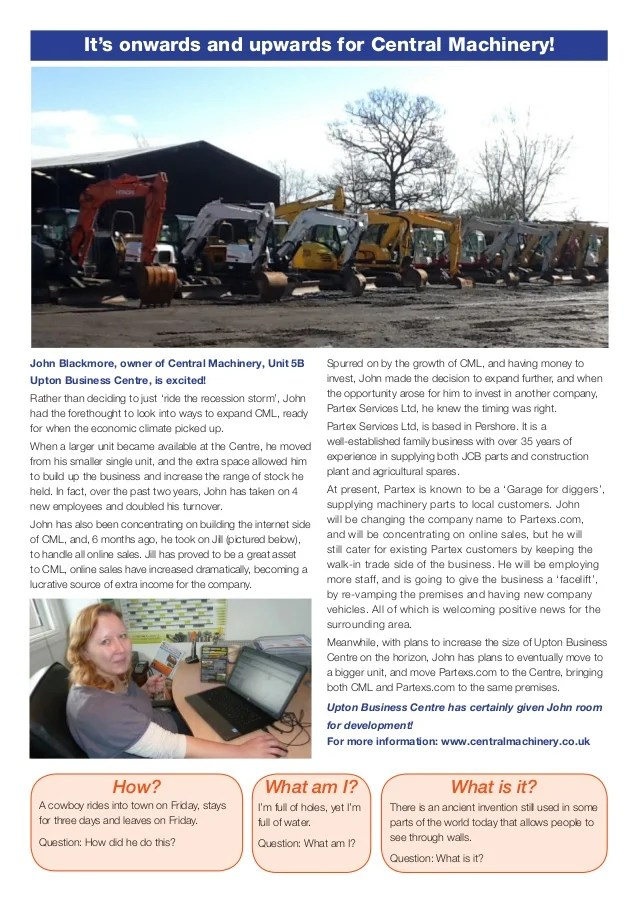 Central Machinery Ltd Pershore