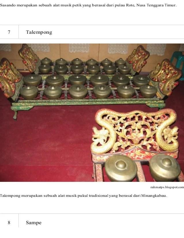 Alat Musik Talempong Berasal Dari : musik, talempong, berasal, Talempong, Merupakan, Musik, Tradisional, Daerah, Berbagai