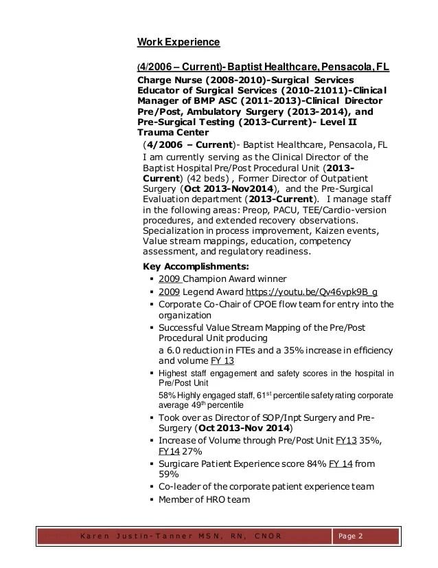 Flu clinic nurse resume