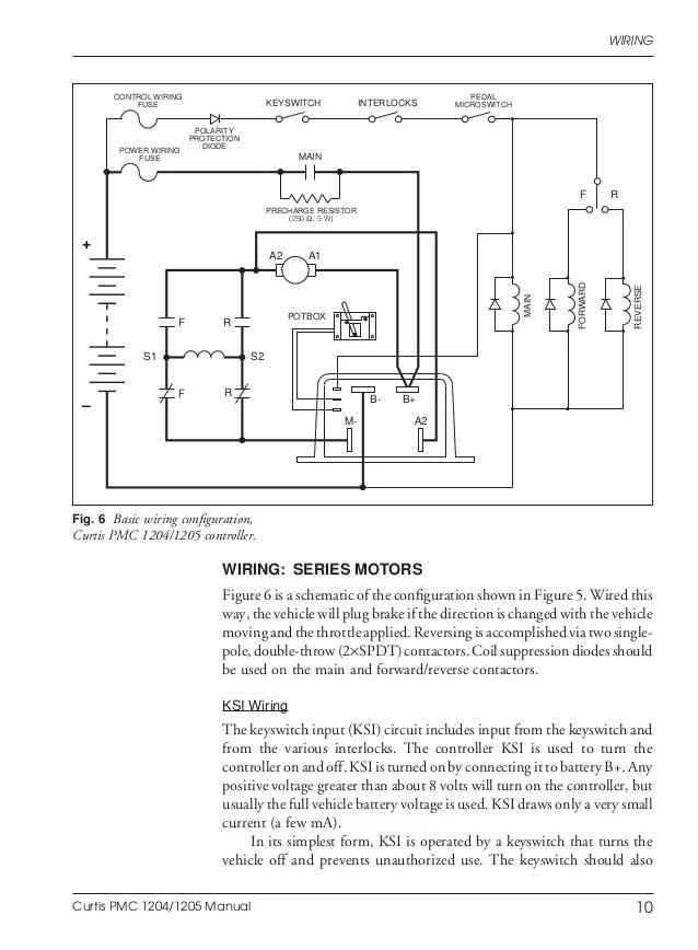 club car golf cart 48v wiring diagram 2002 chevy venture stereo ezgo curtis 1206 controller 36v ...