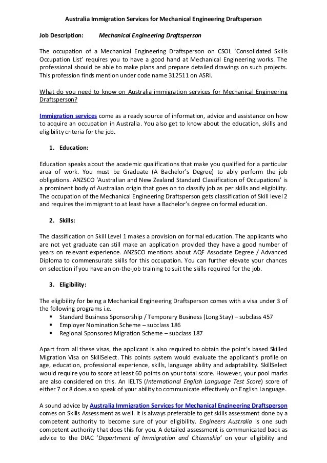 Application Letter Sample Canada Immigration Application