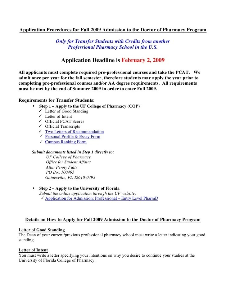 Letter Of Intent Nurse Residency Program Letter Of Intent – Sample Pharmacy Residency Letter of Intent