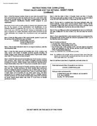 State Sales Tax: State Sales Tax Permit Texas