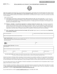 Texas Hotel Occupancy Tax Forms-12-302 Texas Hotel ...