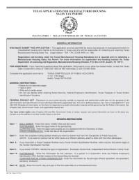 Miscellaneous Texas Tax Forms-AP-118 Texas Application for ...