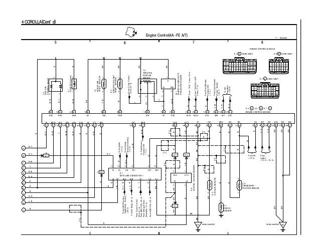4afe Distributor Diagram