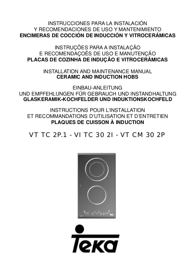 Encimera Teka VT TC 2P1
