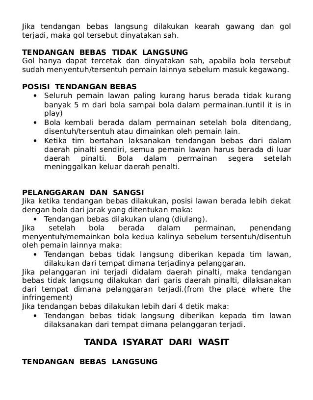 Peraturan Tendangan Penalti : peraturan, tendangan, penalti, 13700803, Peraturan-permainan-futsal-untuk-dicetak