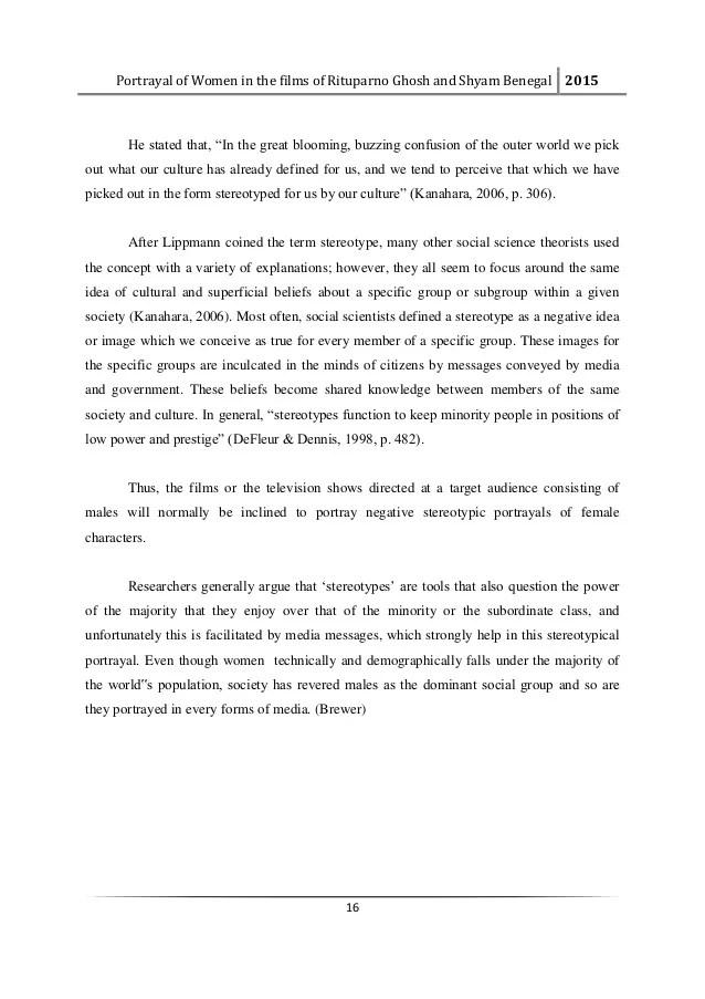 Masters' Dissertation