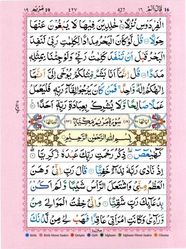Qs Al An Am : Quran, Tajwid, Surah, ﴾القرآن, سورۃ, مريم﴿, Maryam