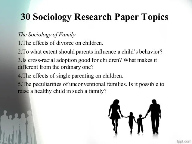 Sociology Research Paper Example Best Dissertation Abstract Writer