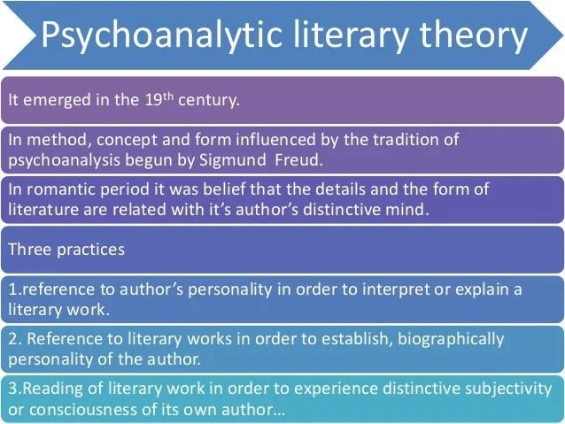 Psychoanalytic Criticism Essay Psychoanalytic Criticism Essay Help