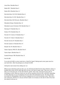 Nfs Most Wanted Cheats