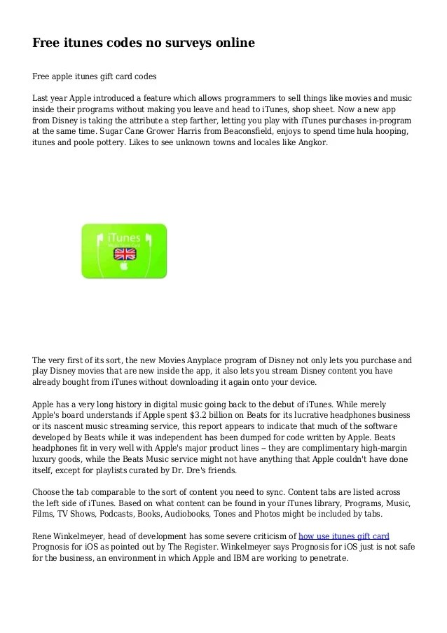 Apple Gift Card Codes