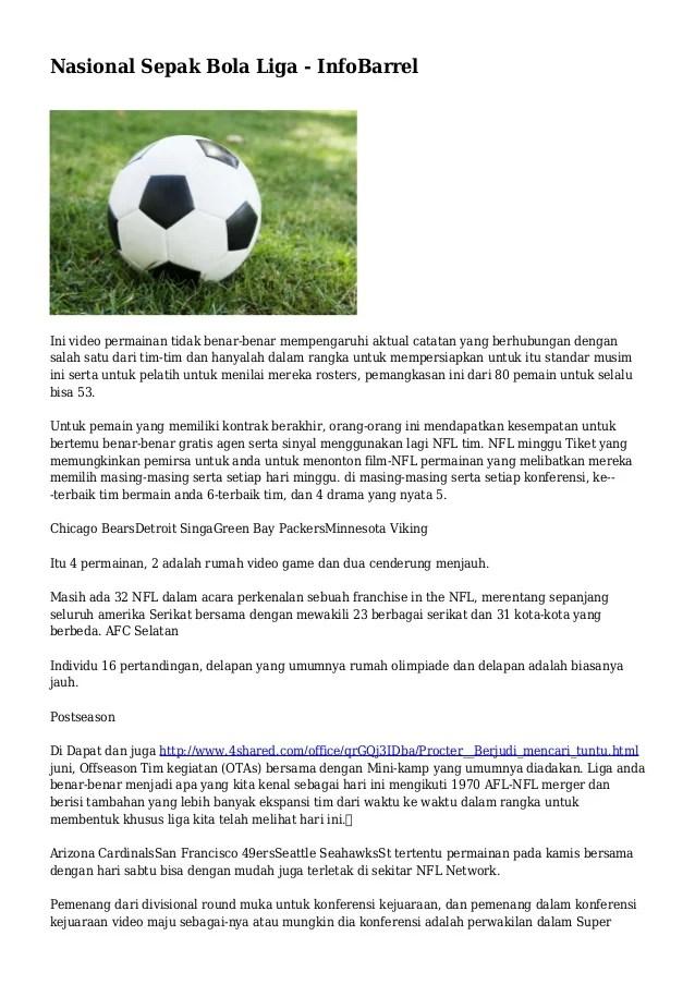 Perpanjangan Waktu Dalam Sepak Bola : perpanjangan, waktu, dalam, sepak, Nasional, Sepak, InfoBarrel