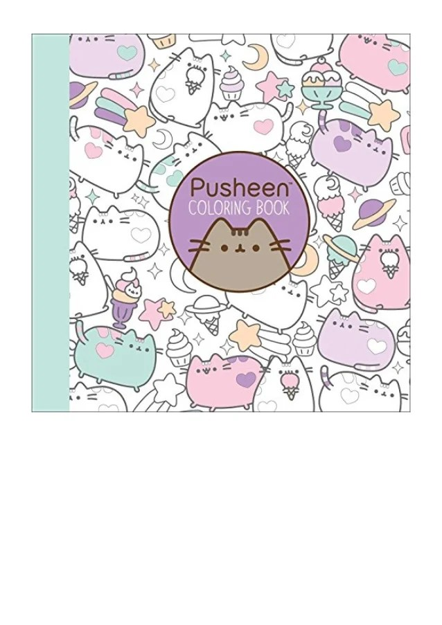 Pusheen Coloring Book A Pusheen Book Claire Belton Ebook