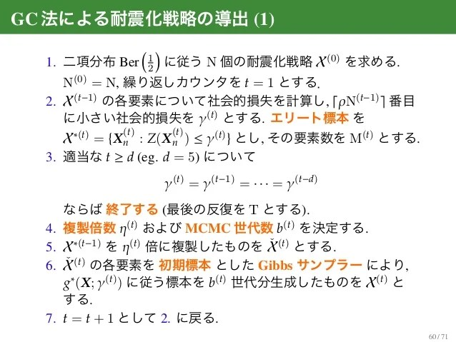 Gibbs cloner を用いた組み合わせ最適化と cross-entropy を用いた期待 ...
