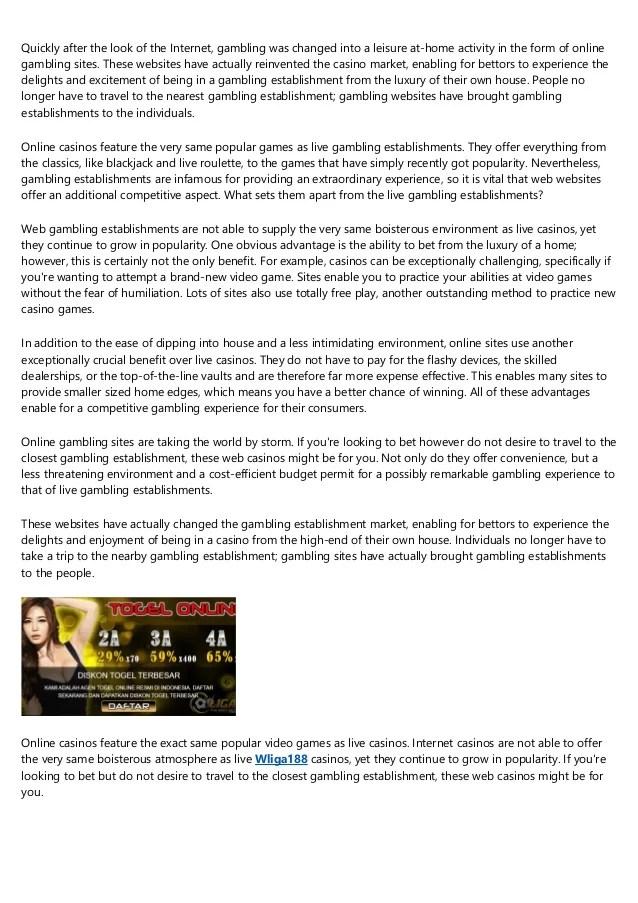 Bet Adalah : adalah, Chips, Clicks, Introduction, Online, Gambling, Sites