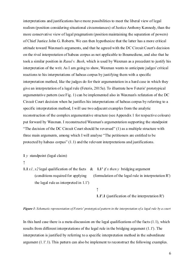 Mori Writing Sample 1 Research Paper Legal Argumentation