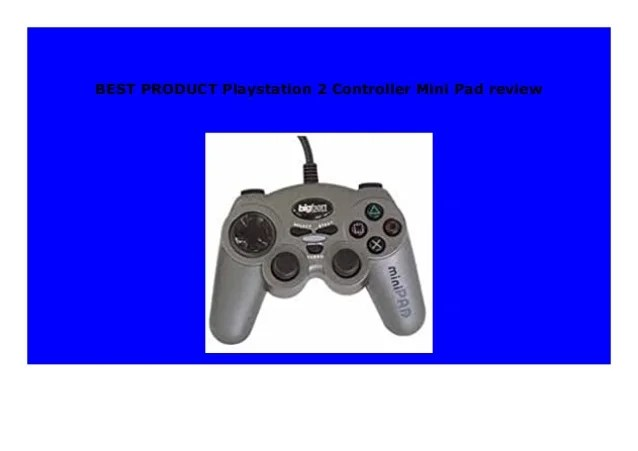 BEST BUY Playstation 2 Controller Mini Pad review 975