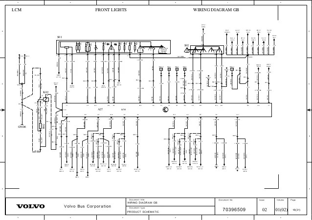 Volvo B10 Wiring Diagram