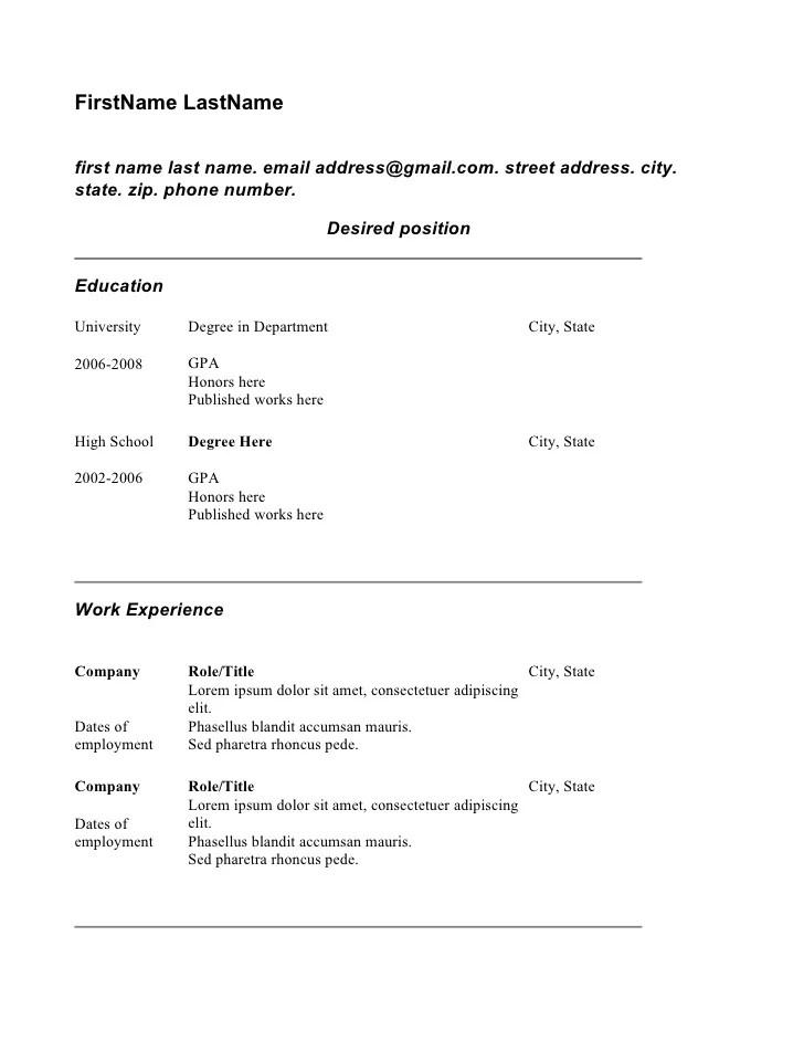 Copy Of Resume Student Theme