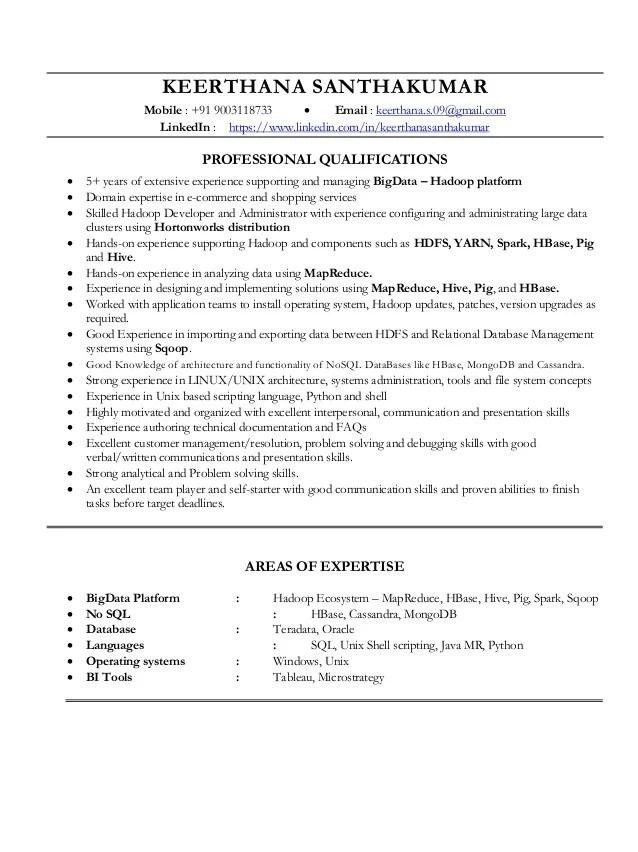 Keerthana Santhakumar Resume