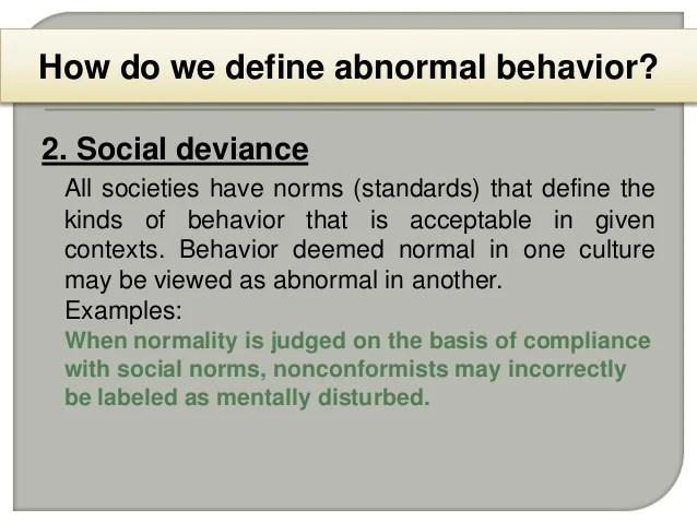 1 Abnormal Psychology (Intro)