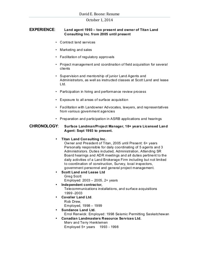 landman resume example examples of resumes
