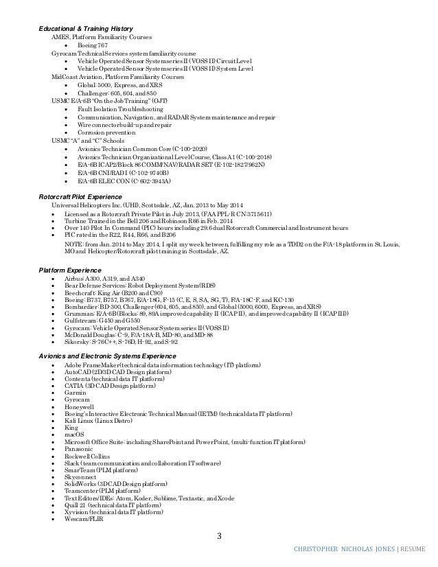 Logistics Support Analyst And Technical Writer Resume CNWJ