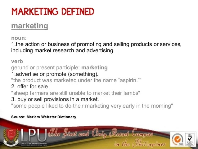 Marketing Perspectives