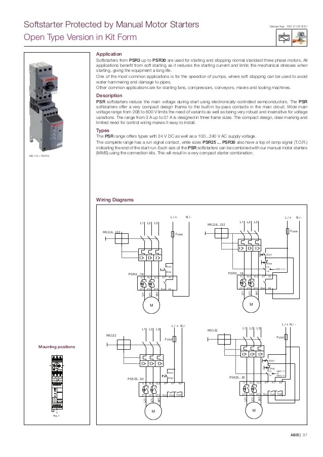 Abb Wiring Diagrams Contactores Abb