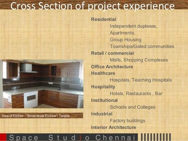 1 Space Studio Profile Ppt Architecture N Interiors 30