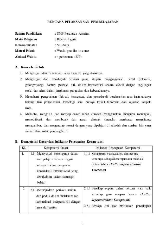 Bahan Ajar Bahasa Inggris Smp Kelas 8 Kurikulum 2013 : bahan, bahasa, inggris, kelas, kurikulum, Bahasa, Inggris, Kelas, Kurikulum, (terbaru), Chapter