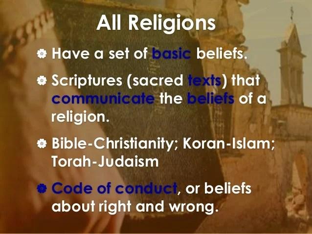 Name Four Buddhism Basic Beliefs
