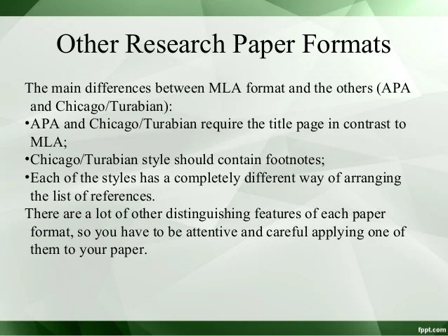 Kate Turabian Style Sample Paper