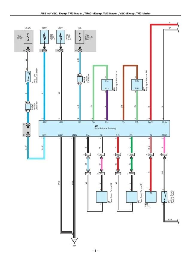 Toyota Ac Wiring Diagram