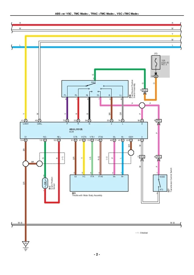 toyota tacoma electrical wiring diagram lights