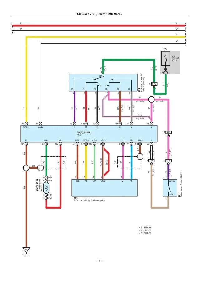 2009 corolla wiring diagram  wiring diagrams database