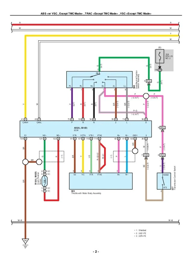 2009 2010 toyota corolla electrical wiring diagrams