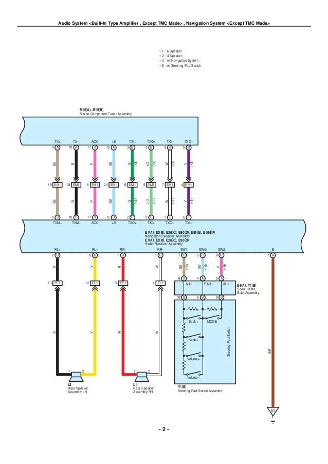 toyota camry mirror wiring diagram