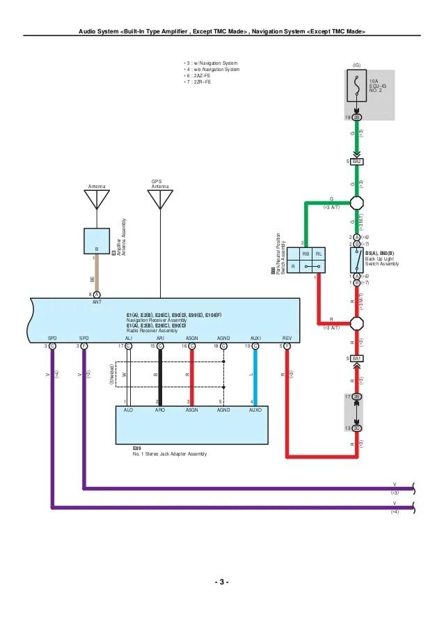 electrical wiring diagram toyota corolla