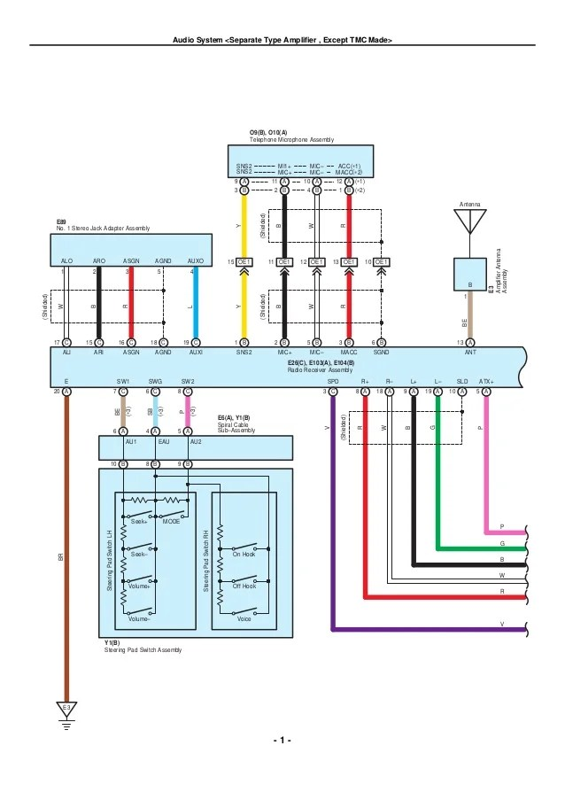 2009 2010 toyota corolla electrical wiring diagrams