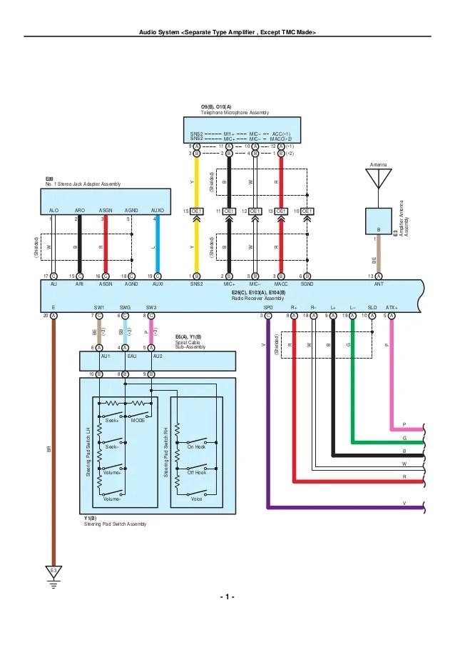 diagram 2000 toyota corolla radio wiring diagram full
