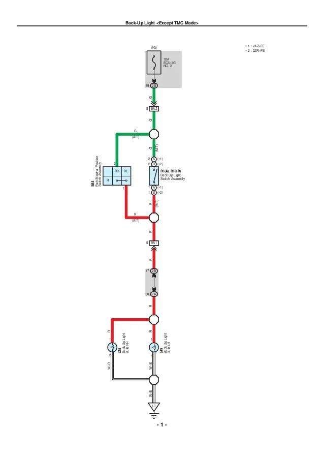 2az fe ecu wiring diagram