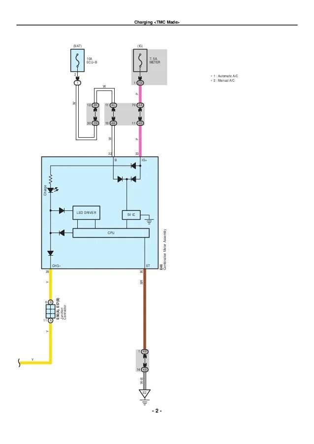 2009 toyota corolla alternator wiring diagram rear seats vw phaeton ac schematics 2010 electrical diagrams rh slideshare net
