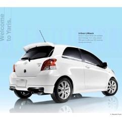 Toyota Yaris Trd White Lampu Reflektor Grand New Avanza 2010 Grapevine 2011 2