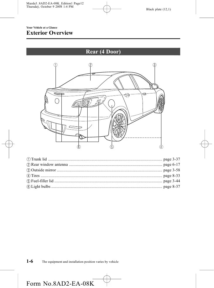 2008 Mazda 3 Wiring Diagram Circuit Wiring Diagram Must